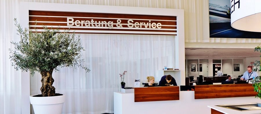 olive tree office reception greening online