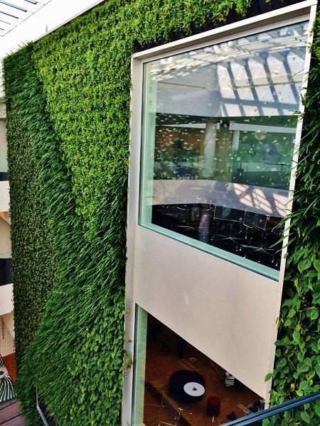 Vertikale gr ne pflanzenwand greenwall planen montieren kaufen - Grune wand selber bauen ...